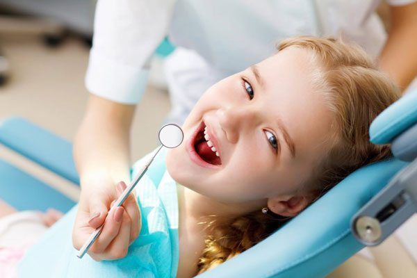 Herriman Dentist Girl in Dental Chair